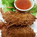 Coconut Prawns  - <p>Deep fried coconut Prawns</p>